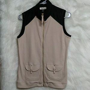 ONQUE CASUALS Thermal Zipper Vest
